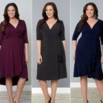 Как подобрать офисное платье на полную фигуру?